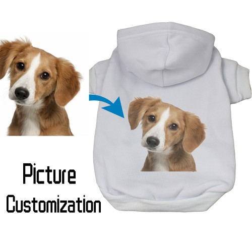 Custom Dog T Shirt, Personalized Picture Pet Clothing