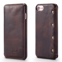 Applicable iPhone6/6s/s7/8 Mobile Phone Case 8Plus Wallet Card Flip Leather Case Holster