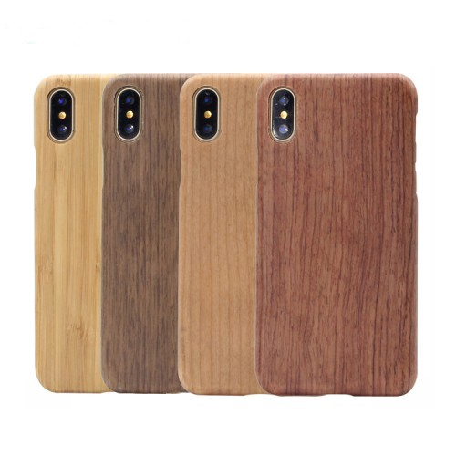 All Solid Wood IphoneX/XS Anti-fall Ultra-thin Protective Cover Phone Case