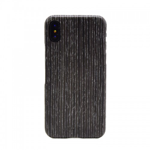 Black Apricot Wood Shockproof Case Unique Cover Ultra-thin Protective Shell for iPhone X, iPhone 7 Plus / 8 Plus, iPhone 7 / 8