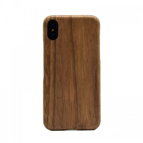 Black Walnut Wood Shockproof Case Unique Cover Ultra-thin Protective Shell for iPhone X, iPhone 7 Plus / 8 Plus, iPhone 7 / 8
