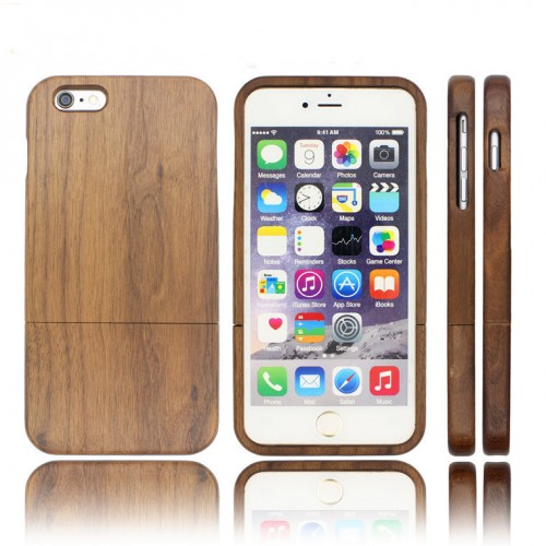 Walnut Cherry Wood Wooden Phone Case iPhone6 /6Plus /7 /7Plus /8 /8Plus /X